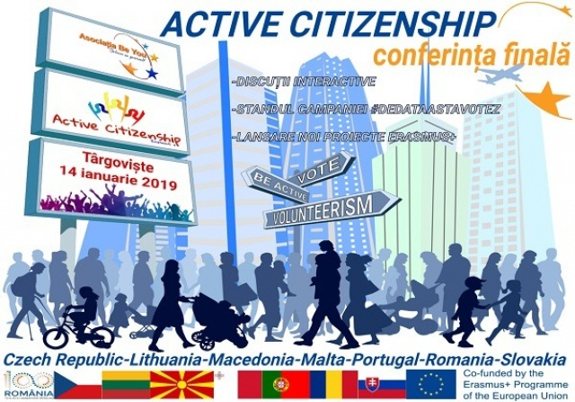 Active Citizenship – Final Conference – 14 January, Valahia Hotel