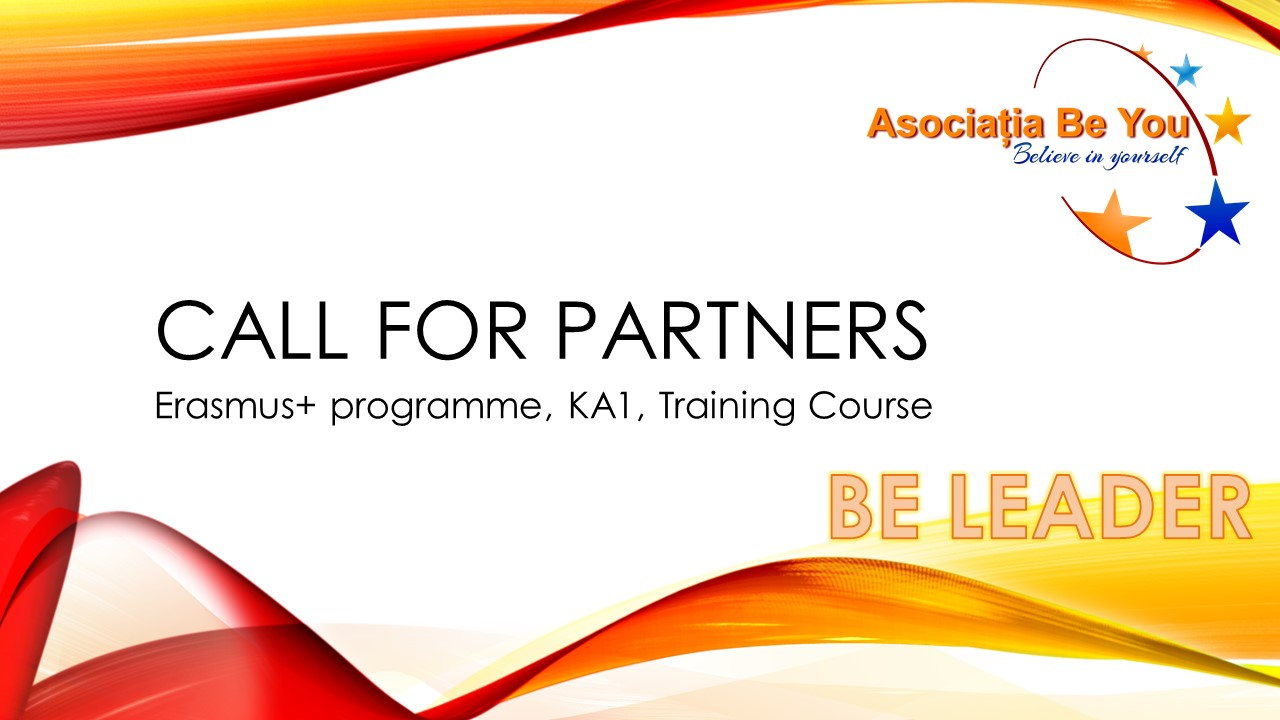 Be Leader – Call for partners